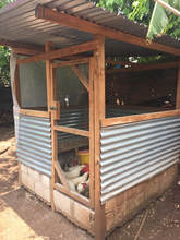 Chicken Coop with Give and Teach in Guatemala