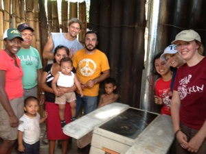 Wood Stove with Give and Teach in Guatemala